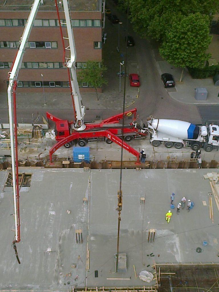 Betonwerk Beton storten Betonbouw Betonbouwbedrijf Rotterdam Betonbouwbedrijf Hijswerk Lassen Lasbedrijf Metaalbewerking Prefab beton
