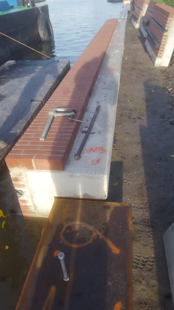 Betonbouw Betonbouwbedrijf Lassen Lasbedrijf Maatvoering Stellen Prefab beton Prefab elementen Metaalbewerking Waterbouw